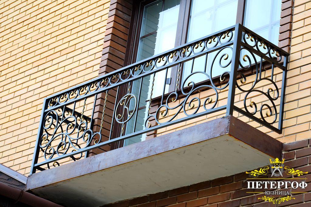 кованые ограждения для перил балконов фото что